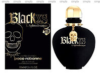 Paco Rabanne Black XS L'Aphrodisiaque for Women туалетная вода  (ОРИГИНАЛ)