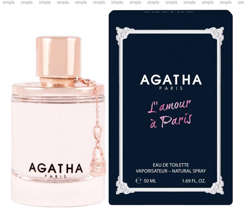 Agatha L amour a Paris туалетная вода  (ОРИГИНАЛ)