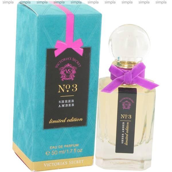 Victoria`s Secret № 3 Sheer Amber парфюмированная вода  (ОРИГИНАЛ)