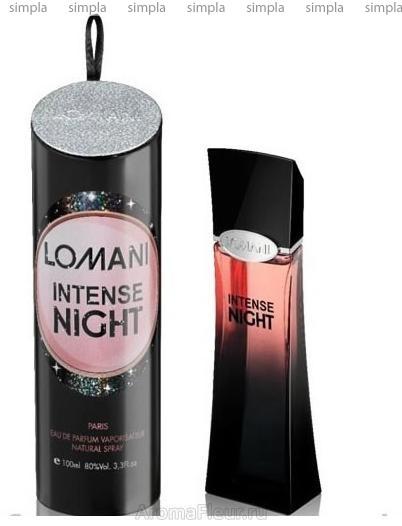 Lomani Intense Night парфюмированная вода  (ОРИГИНАЛ)