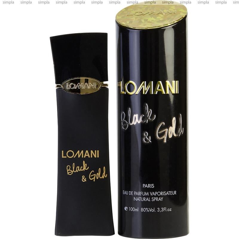 Lomani Black & Gold парфюмированная вода  (ОРИГИНАЛ)