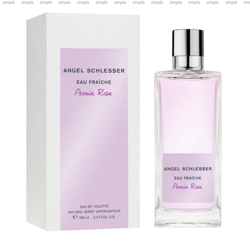Angel Schlesser Eau Fraiche Peonia Rosa парфюмированная вода  (ОРИГИНАЛ)