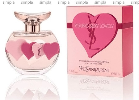 Yves Saint Laurent Young Sexy Lovely Summer Collection туалетная вода  (ОРИГИНАЛ)