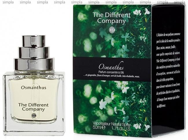 The Different Company Osmanthus парфюмированная вода  (ОРИГИНАЛ)