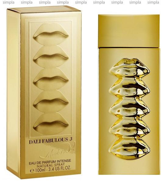 Salvador Dali Fabulous 3-Eau De Rubylips парфюмированная вода  (ОРИГИНАЛ)