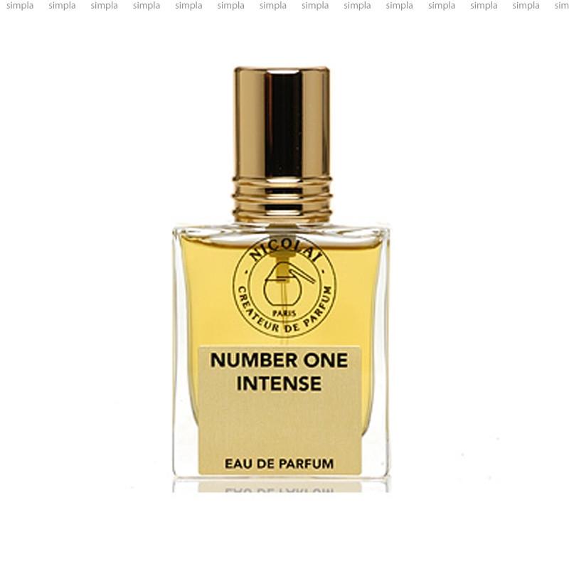 Parfums de Nicolai Number One Intense парфюмированная вода  (ОРИГИНАЛ)
