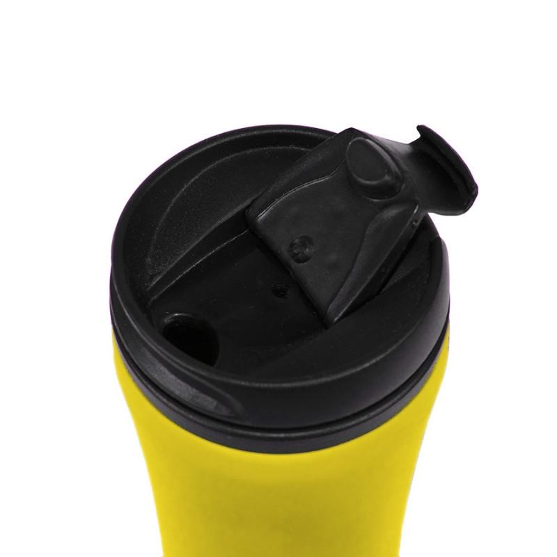 Термокружка FLOCK, Желтый (Pantone 106C), -, 33100 03