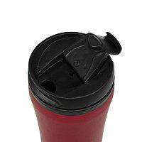 Термокружка FLOCK;  450 мл; красный; пластик/металл, Красный, -, 33100 08, фото 1
