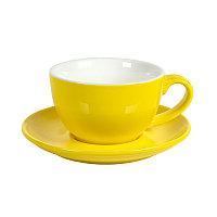 Чайная/кофейная пара CAPPUCCINO, Желтый, -, 27800 03