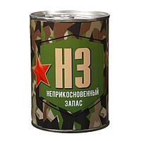 "Сувенирная банка ""Неприкосновенный запас"", внутри муж. носки, цвета МИКС, фото 1"