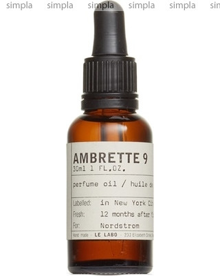 Le Labo Ambrette 9 масло  (ОРИГИНАЛ)
