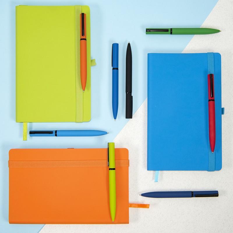 Ручка шариковая MIRROR BLACK, покрытие soft touch, Красный, -, 38002 08 - фото 3