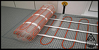 Как смонтировать электрический теплый пол на основе нагревательного мата.