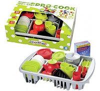 Набор игрушечной посуды 100% Chef Ecoiffier (45 предметов), фото 1