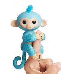 Fingerlings - Интерактивная ручная блестящая обезьянка Амелия