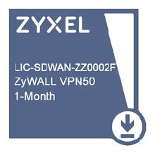 Zyxel LIC-SDWAN-ZZ0002F Подписка для VPN50 на сервис SDWAN Pack - 1 месяц