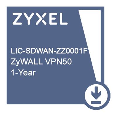 Zyxel LIC-SDWAN-ZZ0001F Подписка для VPN50 на сервис SDWAN Pack - 1 год