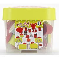 Набор игрушечной посуды Ecoiffier в коробке 36 пр., фото 1