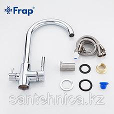 Смеситель для кухни с питьевым каналом хром Frap F4352, фото 3
