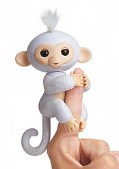 Fingerlings - Интерактивная ручная блестящая обезьянка Шуга