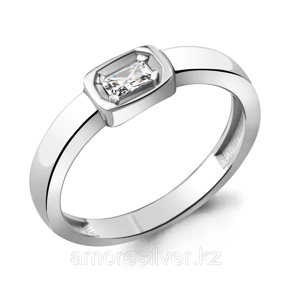 Кольцо Aquamarine серебро с родием, фианит 68671,5