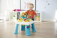 Развивающий игровой стол Cotoons Smoby синий, 47х47х49 см, фото 1