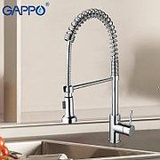 Смеситель для кухни с гибким изливом Gappo G1052-3