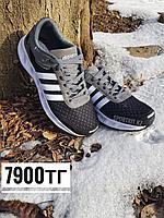 Кроссовки Adidas черно-серые, фото 1