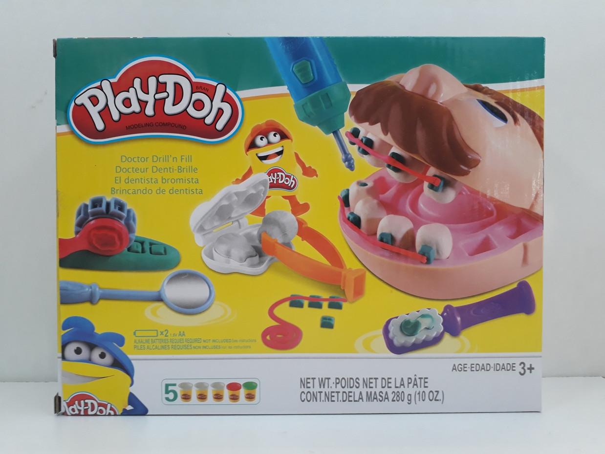 Игра Мистер Зубастик. Классный подарок. Play-Doh. Пластилин.