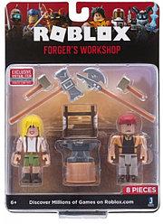 """Roblox ROB0210 Игровой набор Роблокс """"Мастерская кузнеца"""""""