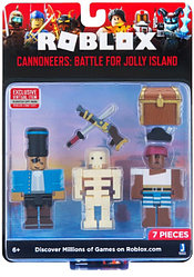 """Roblox ROB0266 Игровой набор Роблокс """"Канониры: Битва за Веселый Остров"""""""