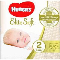 Подгузники детские Huggies 3-6 КГ, ELITE SOFT, 82шт
