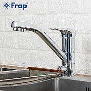 Смеситель для кухни с питьевым каналом хром Frap F4304