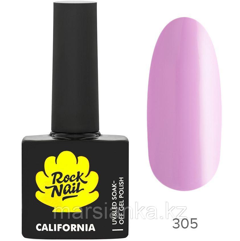 Гель-лак RockNail California #305 Juicy Figs, 10мл