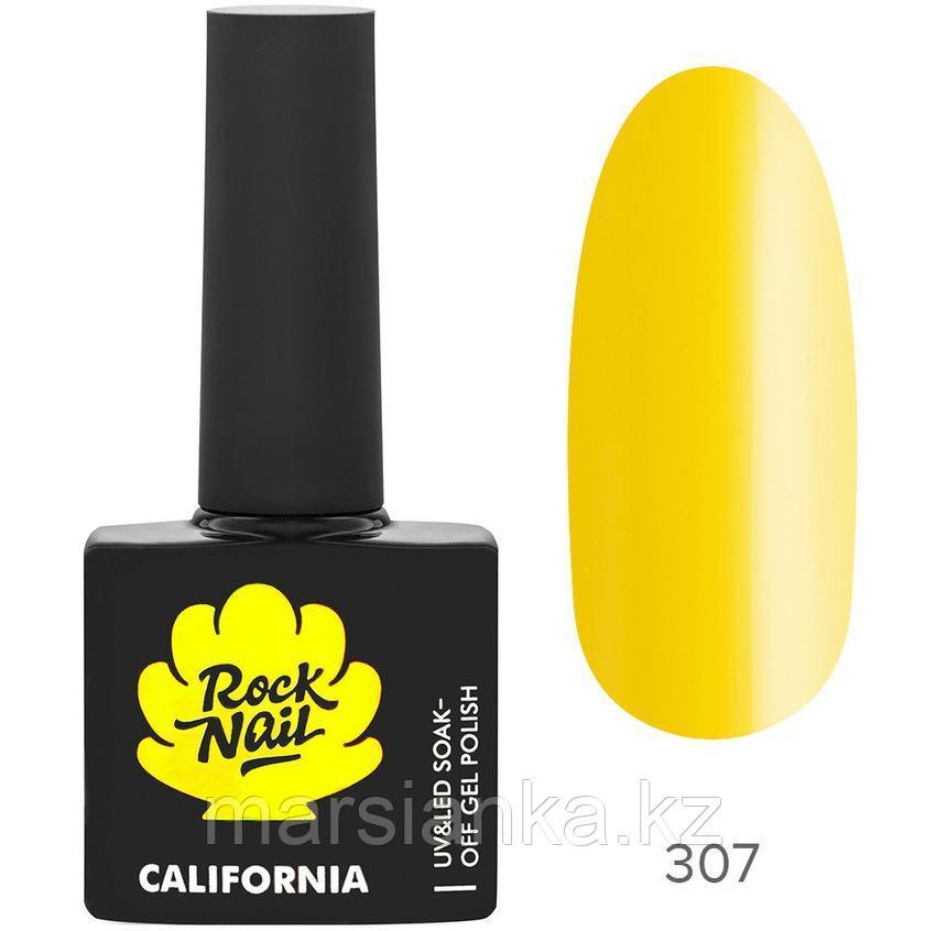 Гель-лак RockNail California #307 Pineapple, 10мл
