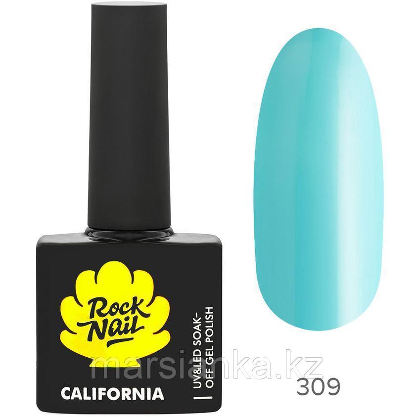 Гель-лак RockNail California #309 Breeze, 10мл
