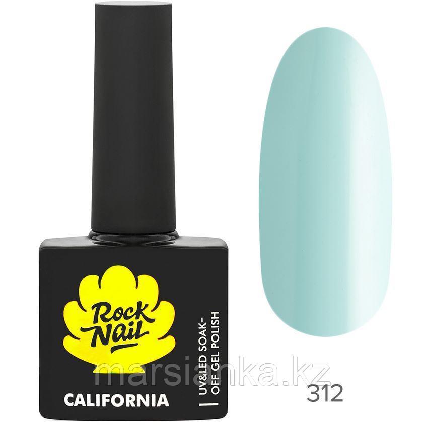 Гель-лак RockNail California #312 Fresh Air, 10мл