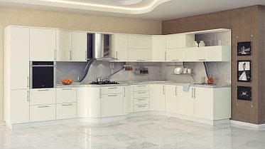 Кухонный гарнитур из акрила на заказ, фото 3