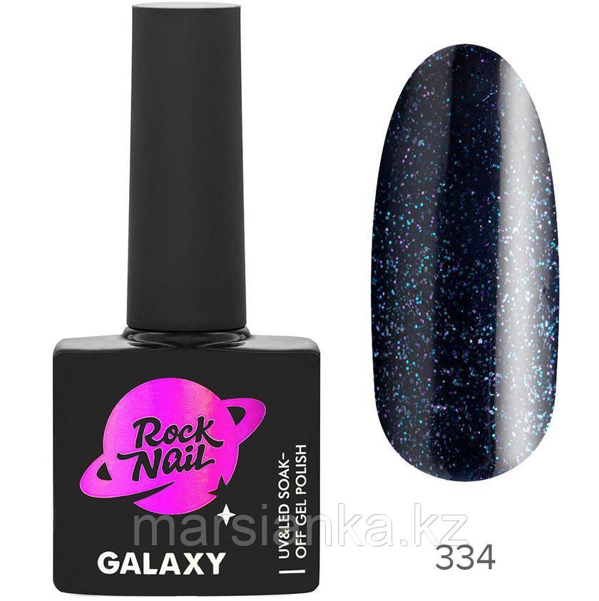 Гель-лак RockNail Galaxy #334 Absorbent, 10мл