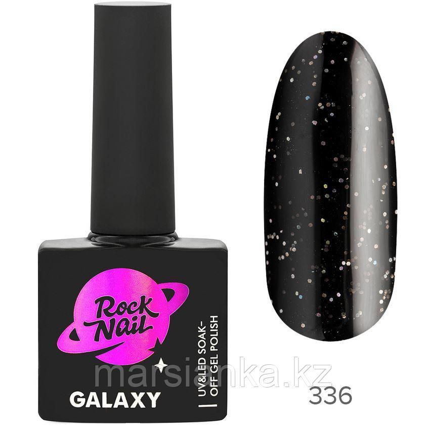 Гель-лак RockNail Galaxy #336 Black Hole, 10мл