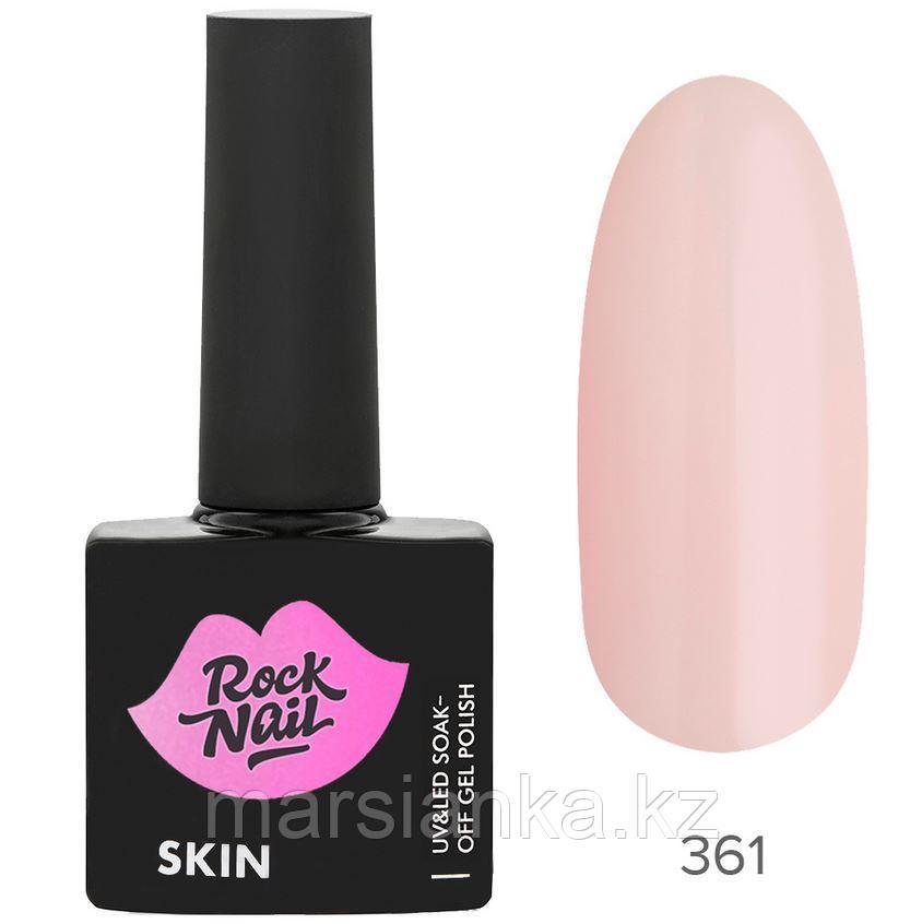 Гель-лак RockNail Skin #361 Porcelain Skin, 10мл