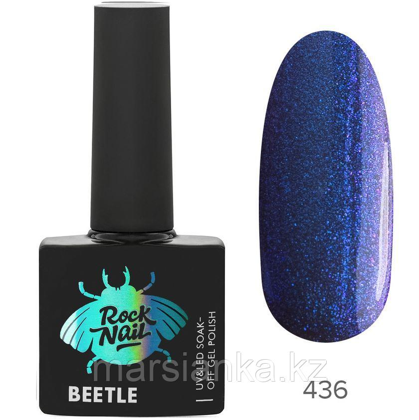 Гель-лак RockNail Beetle #436 Dragonfly, 10мл