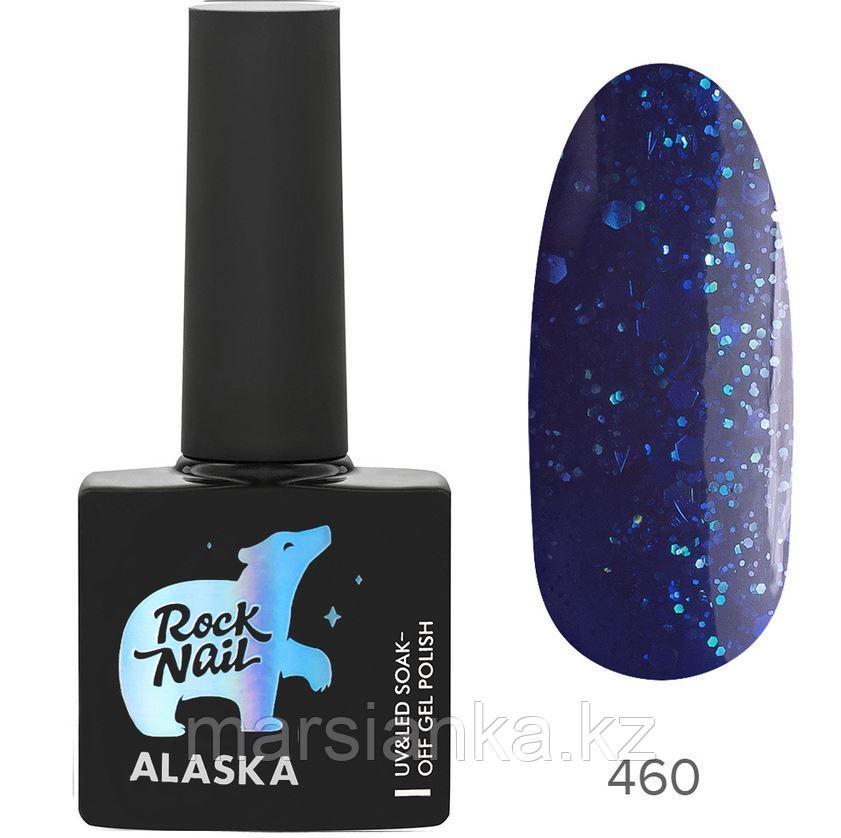 Гель-лак RockNail Alaska #460 Dog Sled, 10мл