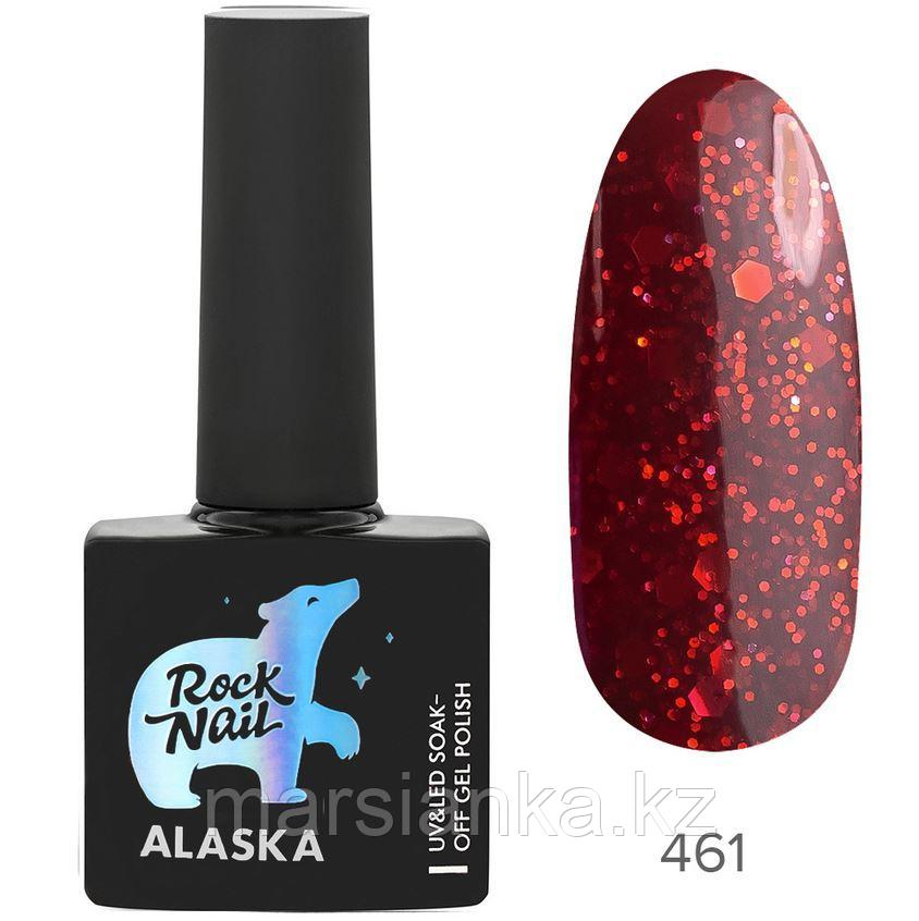 Гель-лак RockNail Alaska #461 Christmas Ornament, 10мл