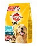 Pedigree Говядина, 600г всех пород Сухой корм для взрослых собак, фото 1