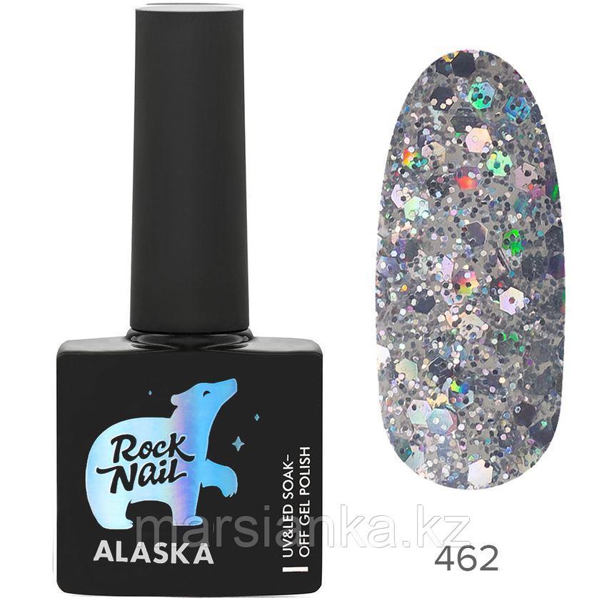 Гель-лак RockNail Alaska #462 Polar Bear, 10мл