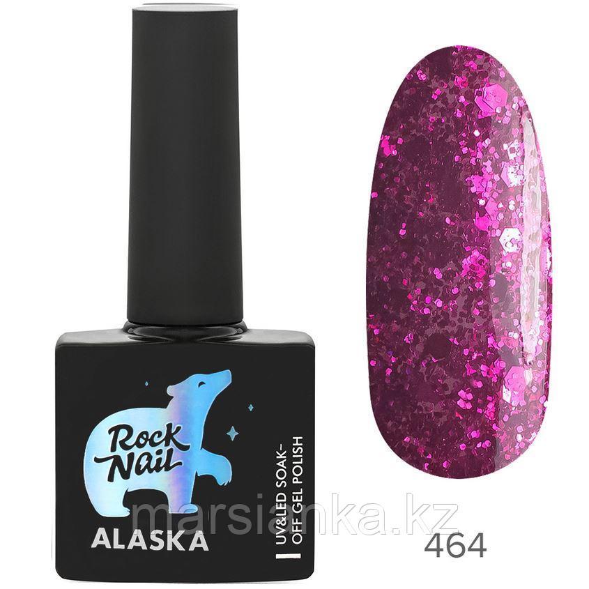 Гель-лак RockNail Alaska #464 Eskimo Kiss, 10мл