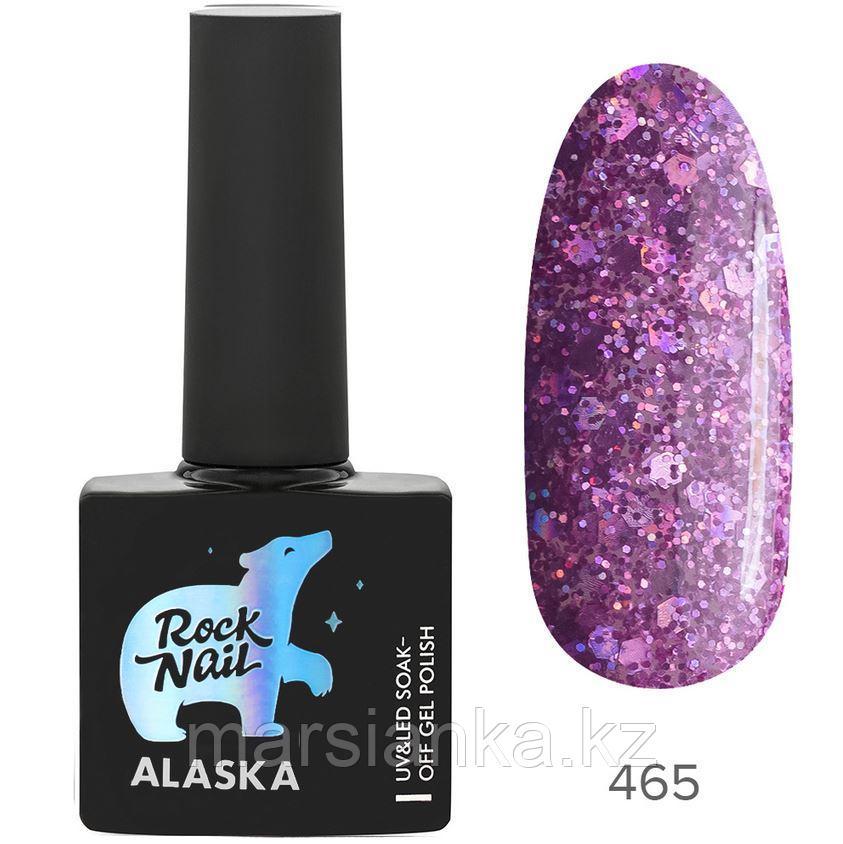 Гель-лак RockNail Alaska #465 Candy Cane, 10мл