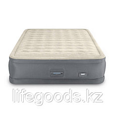 Надувная кровать двуспальная со встроенным насосом и USB-портом Intex 64926, фото 3