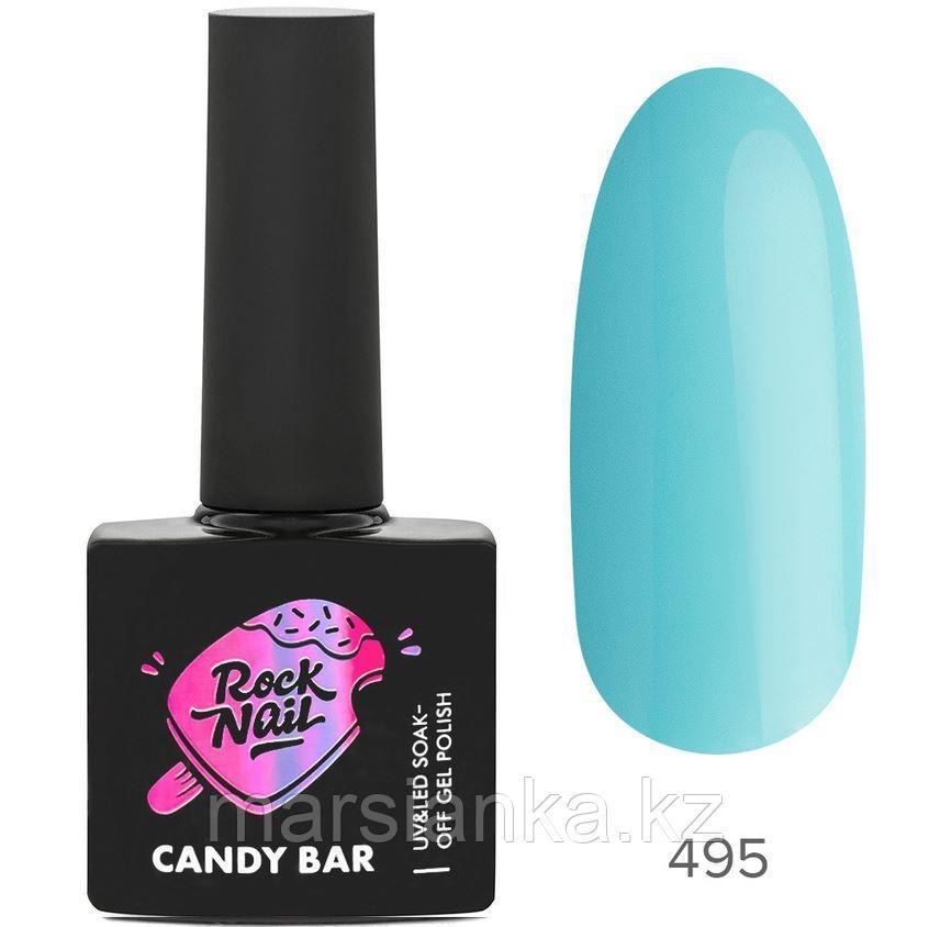 Гель-лак RockNail Candy Bar #495 Cake Pop At The Casino, 10мл